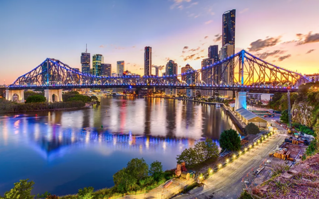 Brisbane leads the country in property growth