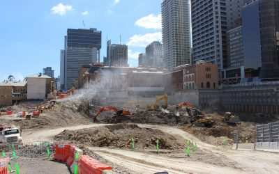 The Queen's Wharf Redevelopment Project Is Underway